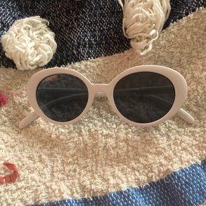 UO White Sunglasses